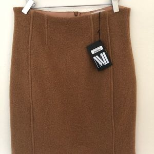 MM LaFleur Crosby Skirt - camel
